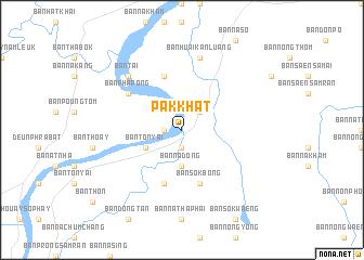 Nong Khai Thailand Map.Pak Khat Thailand Map Nona Net
