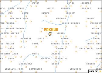 map of Pakkum