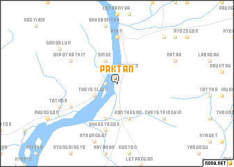 map of Paktan