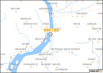 map of Paktan