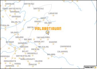 map of Palabatiauan