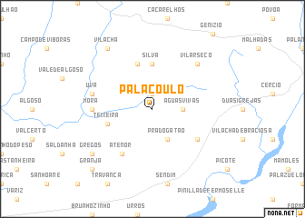 map of Palaçoulo