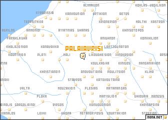 map of Palaiá Vrísi