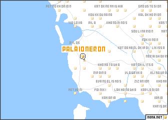map of Palaióneron