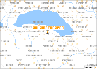 map of Palaiozévgaron