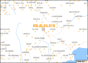 map of Palale Ilaya
