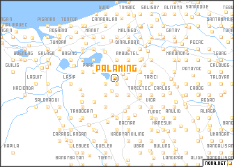 map of Palaming
