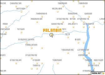 map of Palanbin