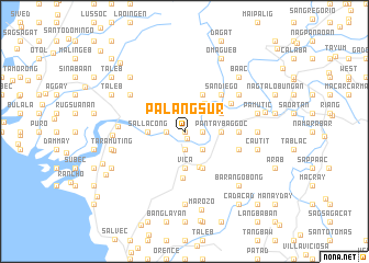 map of Palang Sur