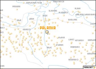map of Palanka