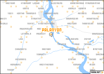 map of Palanyon