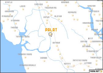 map of Palat
