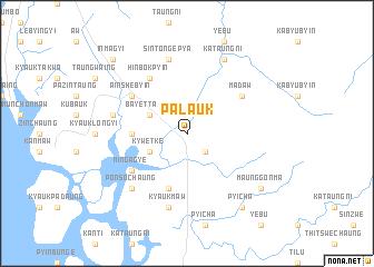map of Palauk