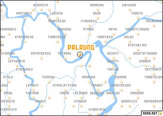 map of Palaung