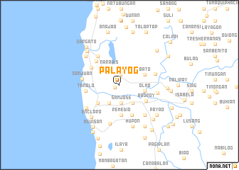 map of Palayog
