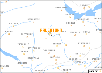 map of Palentown