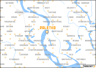 map of Paletko