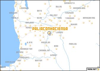 map of Paliacon Hacienda