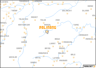 map of Palinang