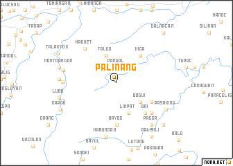 map of Palinang