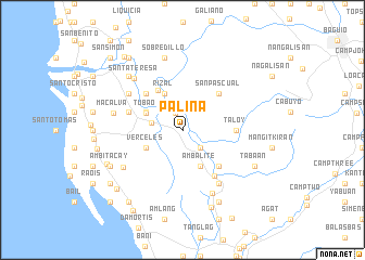 map of Palina