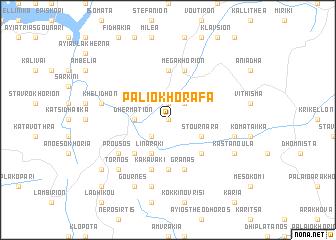 map of Paliokhórafa