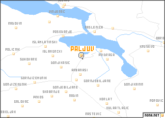 map of Paljuv