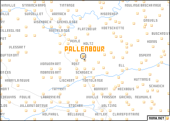 map of Pallenbour