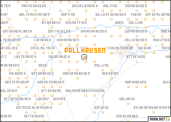 map of Pallhausen