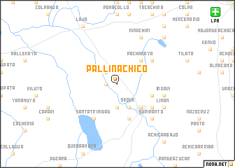 map of Pallina Chico