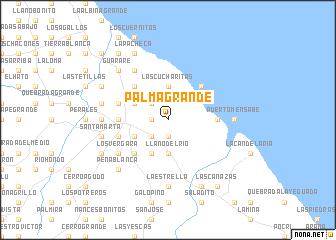 map of Palma Grande