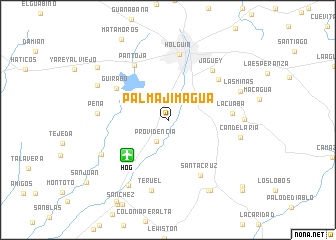 map of Palma Jimagua