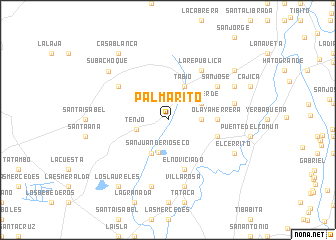 map of Palmarito