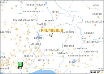 Palma Sola United States USA map nonanet