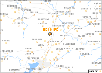 map of Palmira