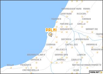 map of Palmi