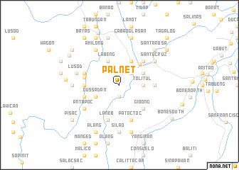 map of Palnet