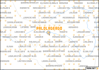 map of Palo Ladeado