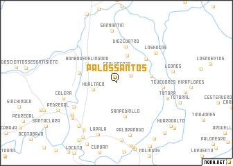 map of Palos Santos