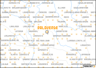 map of Palo Verde