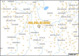 map of Palpalacapac