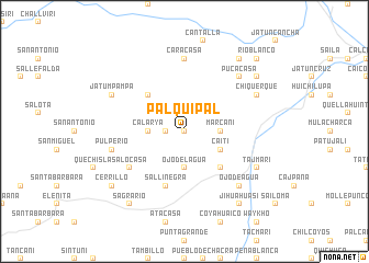 map of Palquipal