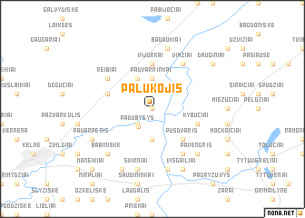 map of Palukojis