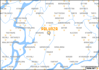 map of Palunza