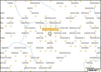 map of Pāmawng