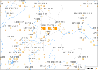 map of Pambuan
