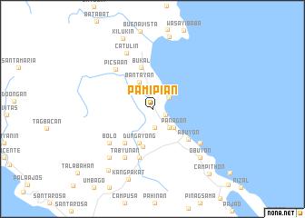 map of Pamipian