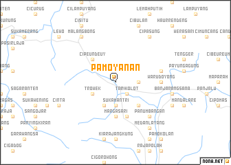map of Pamoyanan