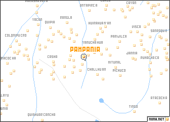 map of Pampanía