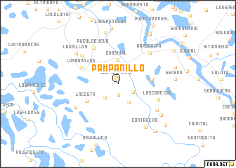 map of Pampanillo